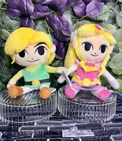 """2014 Little Buddy The Legend of Zelda And Link The Wind Waker 8"""" HD Link Plush"""
