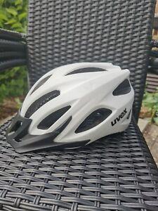 Uvex Fahrradhelm weiß, 52-57, neuwertig, OP 79,95€