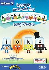 Learn To Read With The Alphablocks  Long Vowels Volume 5 [DVD]
