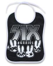 Six Bunnies Baby Bib - Rockgroup