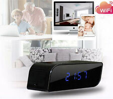 HD 720P Wireless Wifi IP Spy Hidden Camera Motion Network Security Clock IR Cam