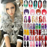 Women Lady Long Hair Wig Curly Wavy Synthetic Anime Cosplay Party Full Wigs #US