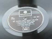 THE BEATLES SGT PEPPERS  RARE 1969 SGT PEPPERS   MONO  ONE E.M.I. BOX PRESS