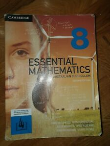 Cambridge Essential Mathematics for the Australian Curriculum Year 8 2nd edition