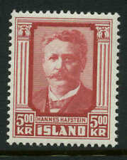 Iceland  Scott #286 Facit #329 Mint  Cats $32.50