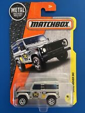 NEW LONG CARD SILVER 2017 Matchbox 1987 Land Rover 90 - mint on card