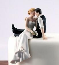 The Look Of Love Bride and Groom Couple Figurine Porcelain Wedding Cake Topper