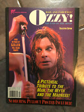 Rip magazine photo special Ozzy Osbourne mint rare