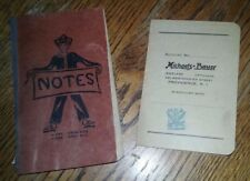1934 NRA Logo, Michaels Bauer Jewelers Opticians Payment Book, Providence RI