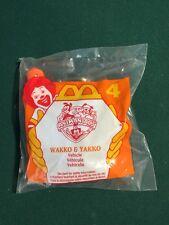 Mcdonalds Happy Meal Toy Nib 1994 # 4 Wakko & Yakko Animaniacs