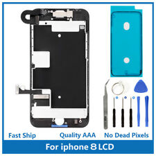 iPhone 8 Full Screen Replacement LCD Shield Plate Front Camera Ear Speaker Tools