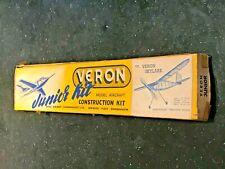 🛩️ Vintage VERON SKYLARK JUNIOR MODEL AIRCRAFT KIT - Lightweight Duration Model
