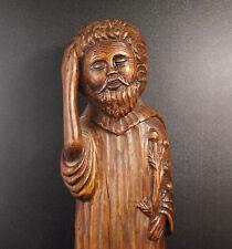 Sculpture de Saint 42 cm art populaire XIX ème art religieux religious chrétien