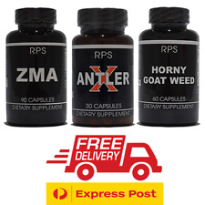 ZMA Zinc Magnesium Vitamin B6 Deer Antler Velvet DHEA Horny Goat Weed