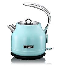 KHAPP Retro-Design Wasserkocher Teekocher Tee-Kocher Teekessel Kessel babyblau