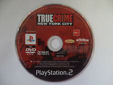 TRUE CRIME NEW YORK CITY - PlayStation 2 / PS2 - DISC ONLY