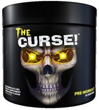 Cobra Labs The Curse Pre Workout 50 Servings Strong Energy Drink Lemon Rush