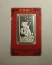 2020 Pamp Suisse Year of the Rat 1 Oz Silver Bar (with spot)
