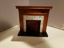Vintage Fire Place Dollhouse Miniatures Decoration by Cool Price