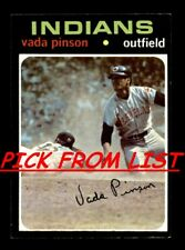 1971 Topps 263-523 Pick From List All PICTURED