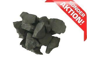 Schungit & Shungite - Rohsteine, Wassersteine  3-10 cm./1 kg. ###SONDERRABATT###