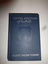 FURTHER ADVENTURES OF LAD Albert Payson Terhune GROSSET Edition RARE Fiction 263