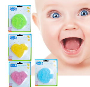 New 3D Baby Teether Chew able Teething Toy water filled  BPA Free Peppa pig