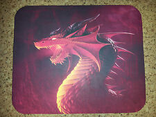 Dragon Mouse Pad - Red Dragon