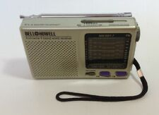 Bell and Howell World Receiver 9 Band Bell Shortwave FM/MW/SW