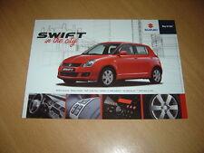 FEUILLET Suzuki Swift In The City de 2010