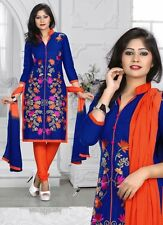 Radiant Cotton Embroidered Salwar Suit Dress Material D.NO JIO4004