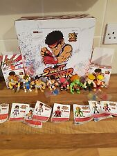 The Loyal Subjects Street Fighter 30th Anniversary Action Figure Bundle of 8