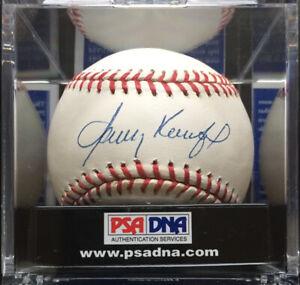 Sandy Koufax Autographed National League Baseball, PSA Grade **Near-Mint 8.5**