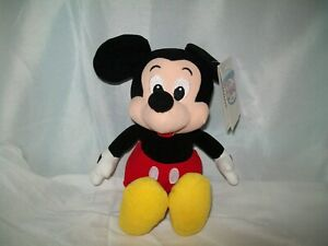 BRAND NEW WITH TAG DISNEY STORE MICKEY MOUSE BEAN BAG