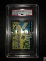 2000 Crown Royale Football Hobby Pack- Tom Brady Rookie Card- PSA 9