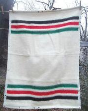 "BIEDERLACK small Poncho PET CHILD BABY pendleton stripe BLANKET 29 "" x 38 ""  bag"