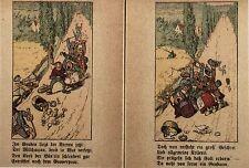 Leporello. - Reinicke. Kleine Ursache, große Wirkung. Braun & Schneider EA 1905
