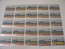 Lot of 25-1990 Kenworth T600 Semi Truck 18 Wheelers Trading Cards (READ AD)