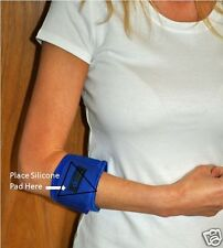 Soporte activo aparatos ortopédicos Correa Codo de Tenista con Almohadilla de presión de silicona específica