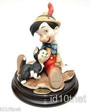 Giuseppe Armani Disney Figurine - Pinocchio and Figaro