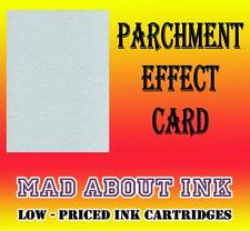 Blue Parchment Effect Card For Craft & Inkjet Printers 40 A4 Sheets 150gsm