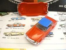 1960s Foreign Faller Mercedes 230SL Slot Car Body Rd/Bl