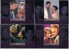 WOMEN OF STAR TREK 2010 ROMANTIC RELATIONSHIPS 4 FOIL CHASE CARD LOT #RR1 4 6 8
