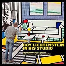 Roy Lichtenstein in His Studio by Laurie Lambrecht (2011, Hardcover) NEW SEALED
