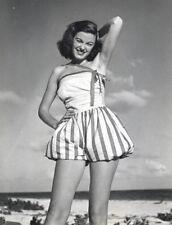 Philippe Halsman Swimsuit, Beach, Fashion 11x14 Stamped B&W Photograph