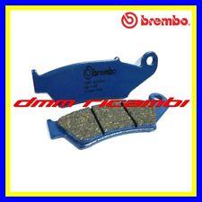 Pastiglie freno anteriori BREMBO CC HONDA TRANSALP 700 XLV 12>13 blù 2012 2013