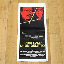 PROFEZIA DI UN DELITTO locandina poster Nero Sandrelli Les magiciens AO54