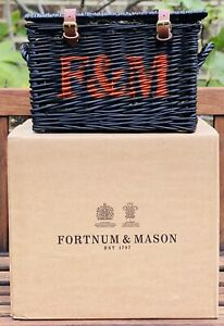 Fortnum And Mason 🎃F&M🎃 Halloween Hamper Basket Limited Edition Black Orange