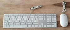 Apple A1243 MB110LL/A Genuine Wired UK Qwerty Keyboard Apple A1152 USB Wired Mig