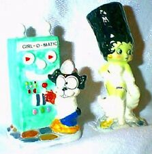 BETTY BOOP as the Bride of Frankenstein and Bimbo as Igor S&P Shakers Star Jars